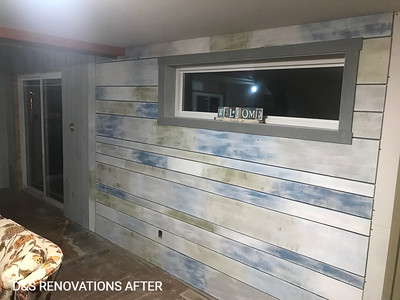Ocean Themed Accent Wall